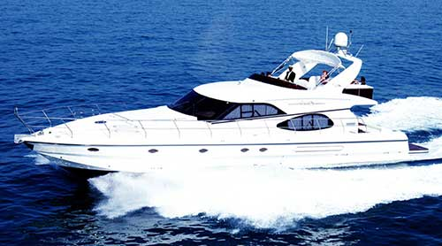 luxury boat for charter